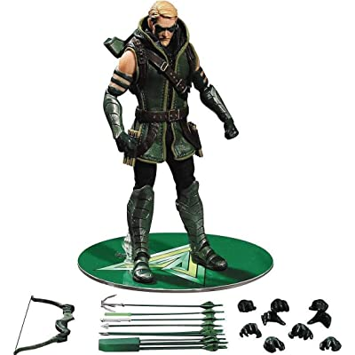 """DC Universe One:12 Collective Greeen Arrow 6.5"""" Action Figure: Toys & Games"""