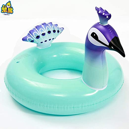 NiñoS De la Familia Rectangular Anillo De baño Inflable en Forma ...