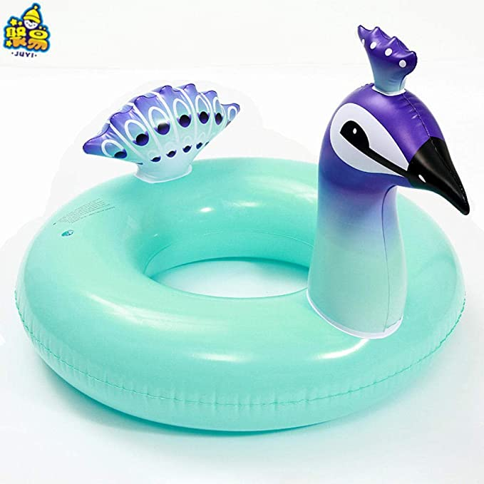 Niños de la Familia Plaza Anillo de natación Inflable en Forma de ...