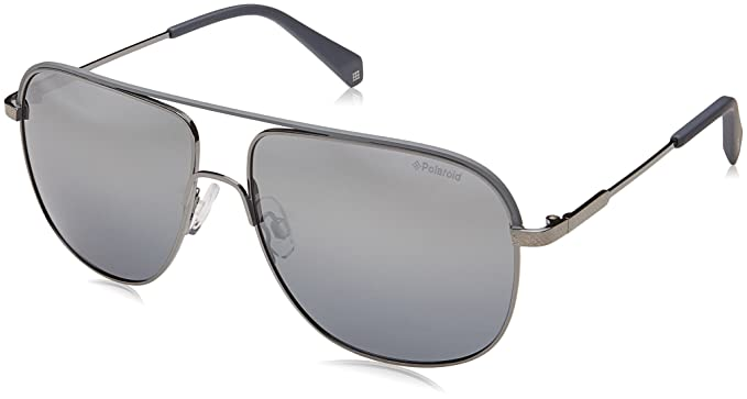 d5173b57c6 Image Unavailable. Image not available for. Color  Polaroid Sunglasses PLD  2055 s Polarized Aviator ...