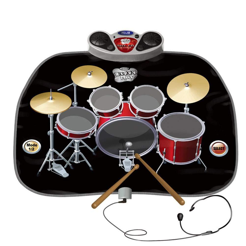 WenterT Music Dance Mat Rock Suit Educational and Educational Children's Intellectual Development Multiplayer Play Children's Toys