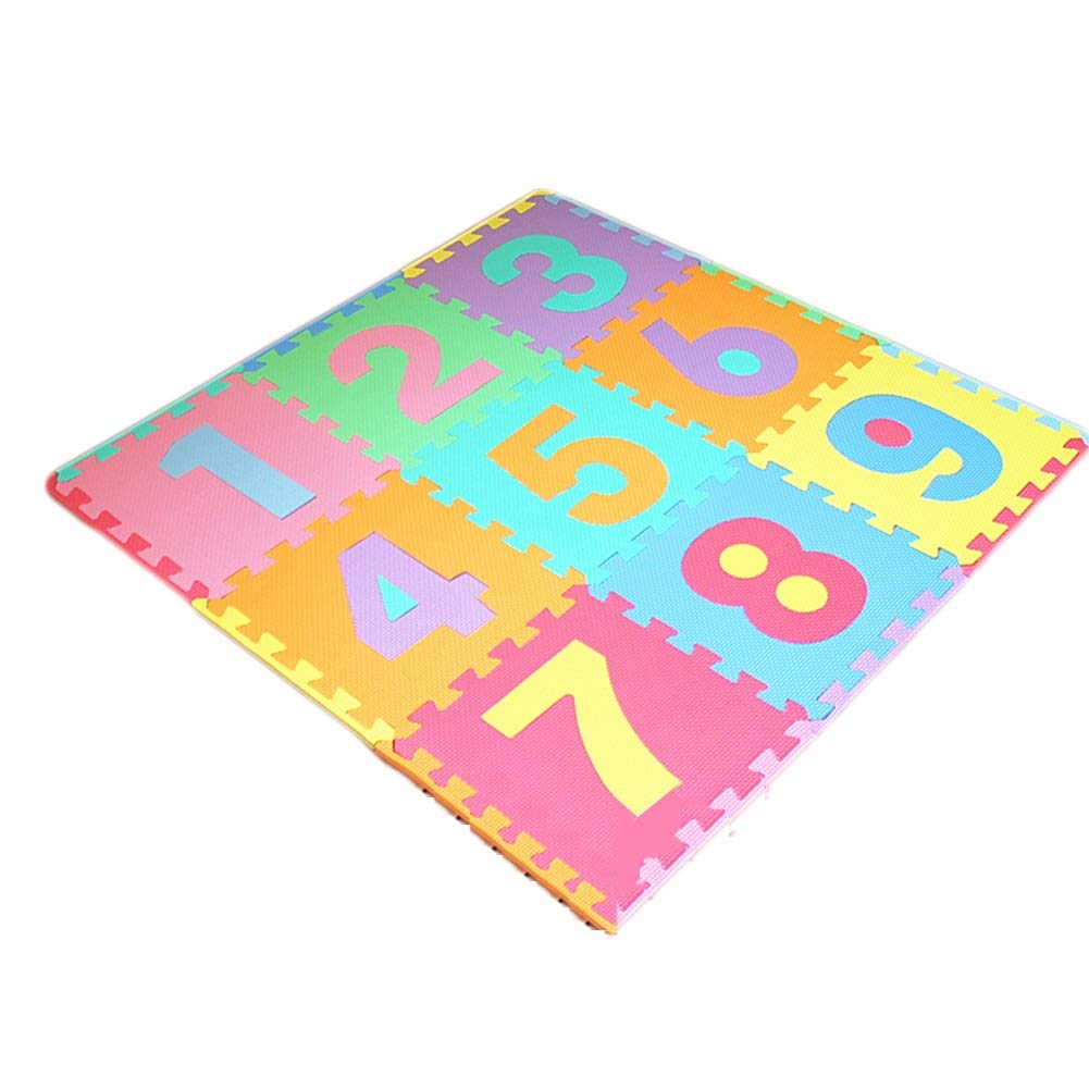 Envio gratis en todas las ordenes A HLMIN Números Patrón De Letras Alfombra De De De Juego De Bebé Gateando Suave Entrelazado Antideslizante Seguro No Tóxico (Color   C)  Envío y cambio gratis.
