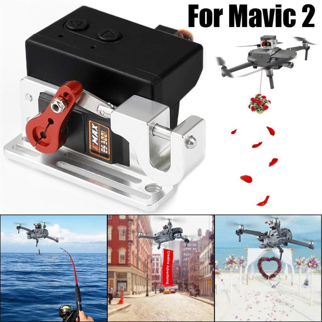FGDJEE Drone Clip Payload Entrega Drop Dispositivo de Transporte ...