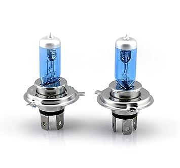 Xenon HID Hyper H4 Headlight Blue/White Bulbs Lights for Kawasaki ZX9r 98 99 00