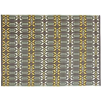 Outdoor Rug   Mad Mats | UV Fade Resistant | Waterproof Woven Outdoor Mat |  100% Recycled U0026 Reversible Polypropylene Plastic Wicker| Non Slip | Beach  Deck ...
