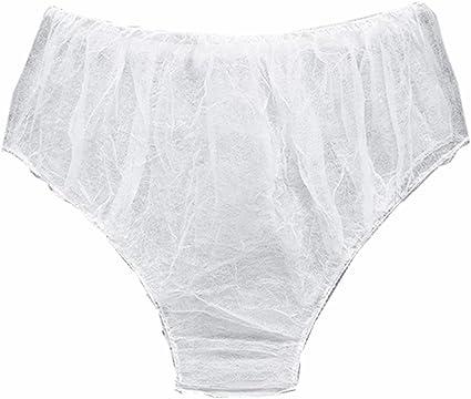 6Pcs//set Disposable non woven paper brief panties underwear ladies women CNWA