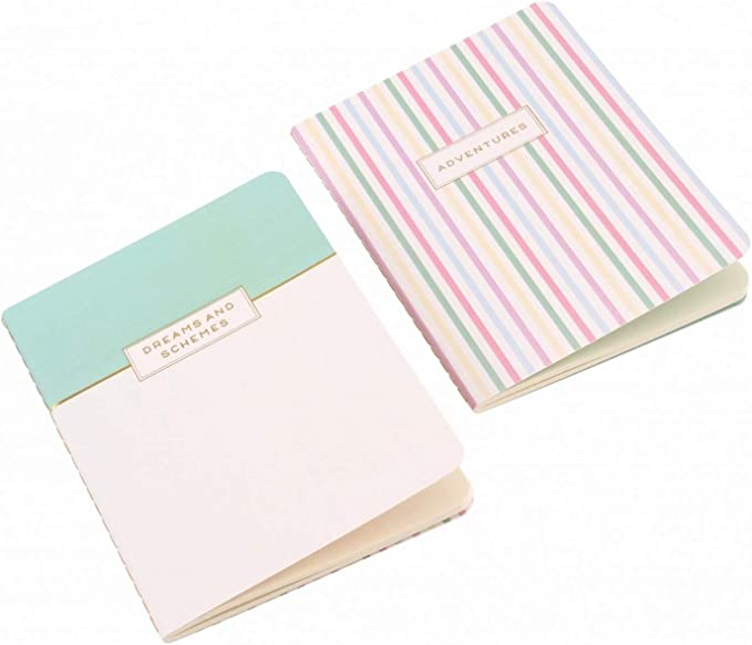 Willow & Rose - Pack de 2 libretas modelo Dreams And Schemes ...