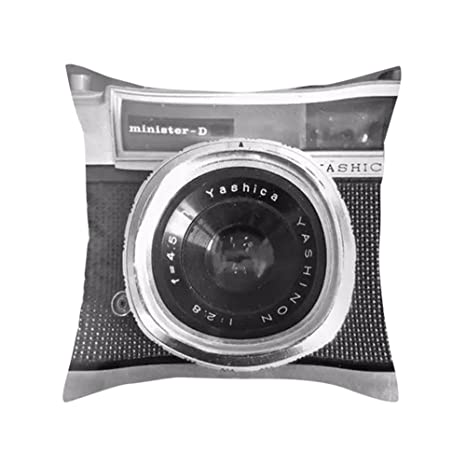 fairlove cojín Creative de antiguo cámara clásico estampado ...