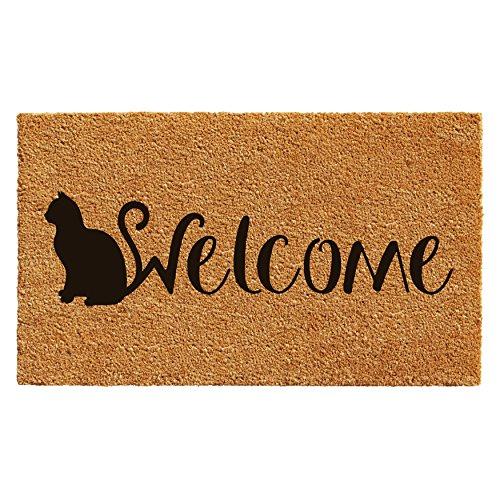 High Cotton Cat Housekeeping Staff New Doormat · Cat Doormat
