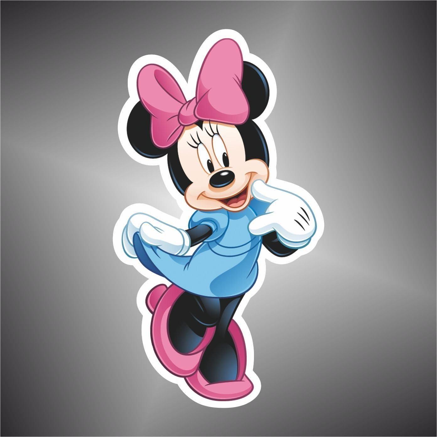 Adesivo Topolino Minnie cartoon cartoni animati sticker