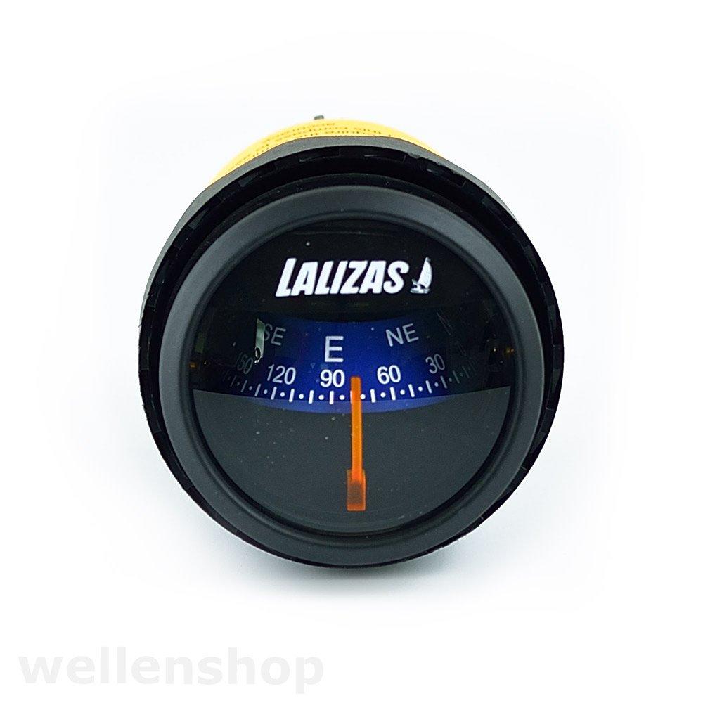 Wellenshop 12V Einbaukompass Ø 56 mm Beleuchtet