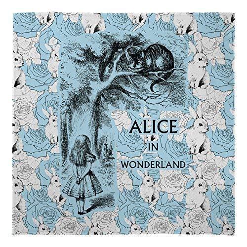 Alice Im Wunderland Druck Weich Bett Decke Groß Warm Sofa Fleece Überwurf