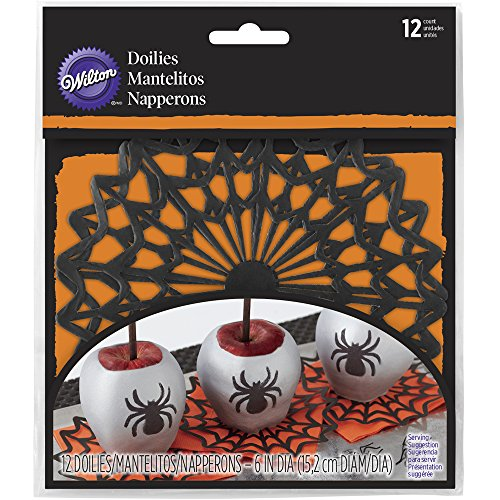 Wilton 6 in. Spider Web Paper Doilies 12-Count -