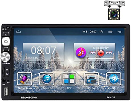 Camecho 2 Din Android Car Radio Gps Fm Am Rds Radio 7 Elektronik