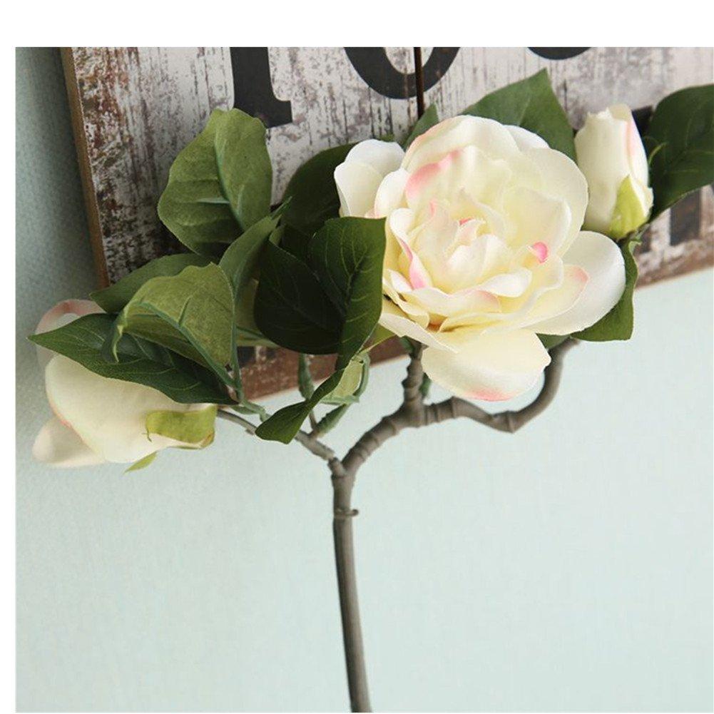 Distinct-1pc-Artificial-Silk-Gardenia-Flower-Vivid-Floral-Decoration-for-Home-Party-Wedding-Light-Pink