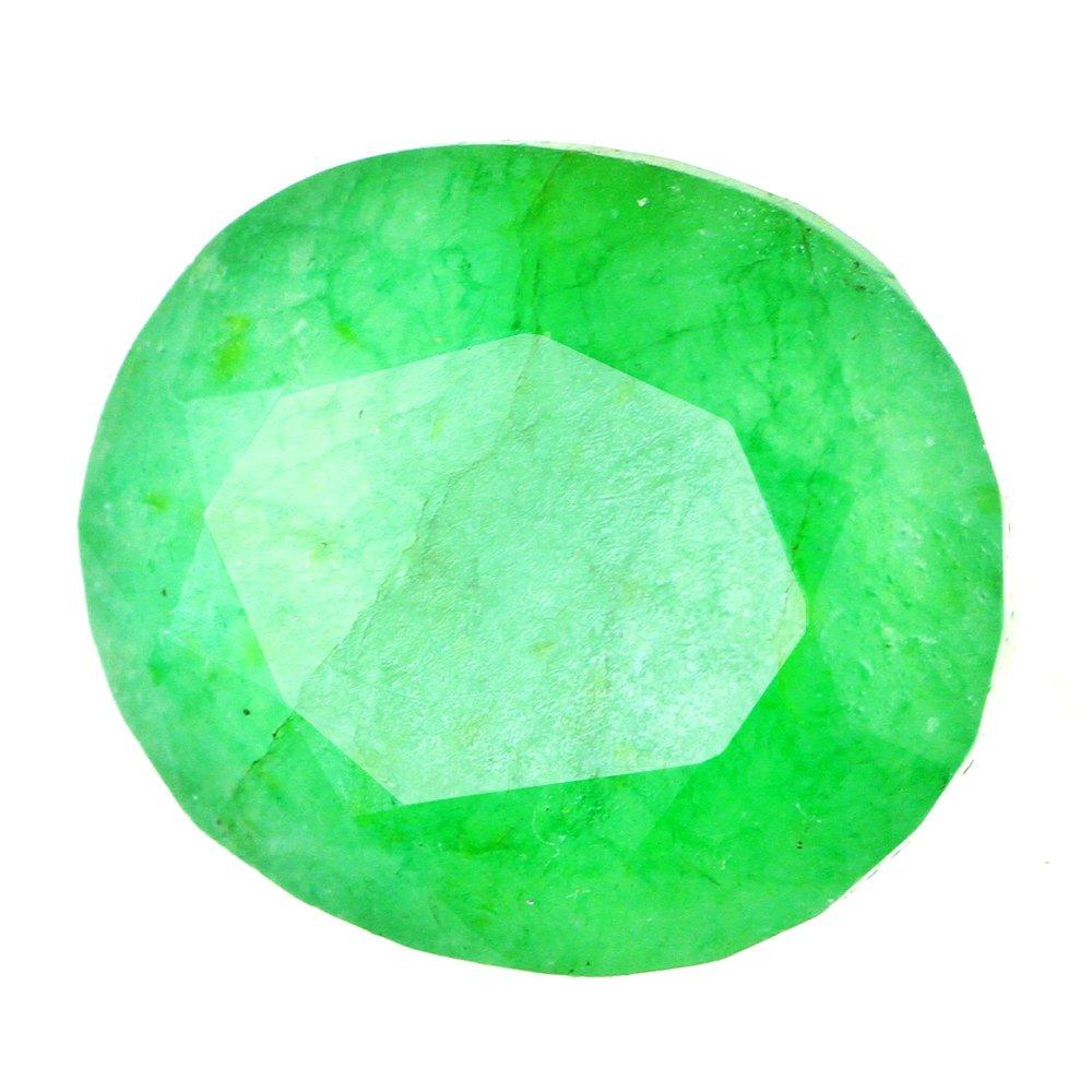 skyjewels Certified 12.50 Cts Emerald Panna Gemstone