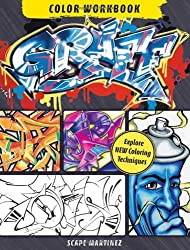 Graff Color Workbook: Explore New Coloring Techniques (Color Studio)