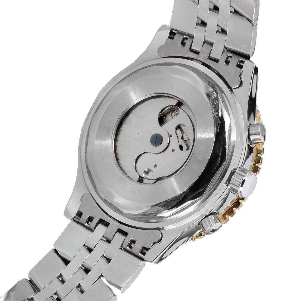 Herr- och damklockor, vardaglig urtavla för män automatisk mekanisk klocka 2
