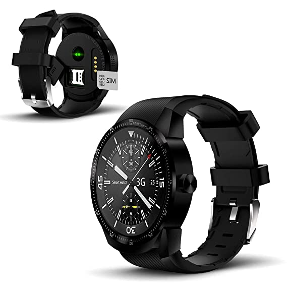 Amazon.com: 1.3 inch Android SmartWatch, DualCore CPU, 512MB ...