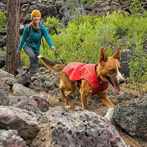 RUFFWEAR - Overcoat Fleece Lined Water Resistant Cold Weather Jacket for Dogs, Twilight Gray, Small by RUFFWEAR (Image #9)