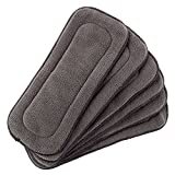 Baby 5 Layer Charcoal Bamboo Inserts Reusable