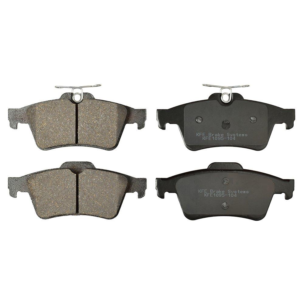 KFE Ultra Quiet Advanced KFE1095-104 Premium Ceramic REAR Brake Pad Set