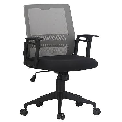 amazon com hbada low back ergonomic office chair computer chair
