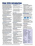 Microsoft Visio 2016 Introduction Quick Reference Guide - Windows Version (Cheat Sheet of Instructions, Tips & Shortcuts - Laminated Card)
