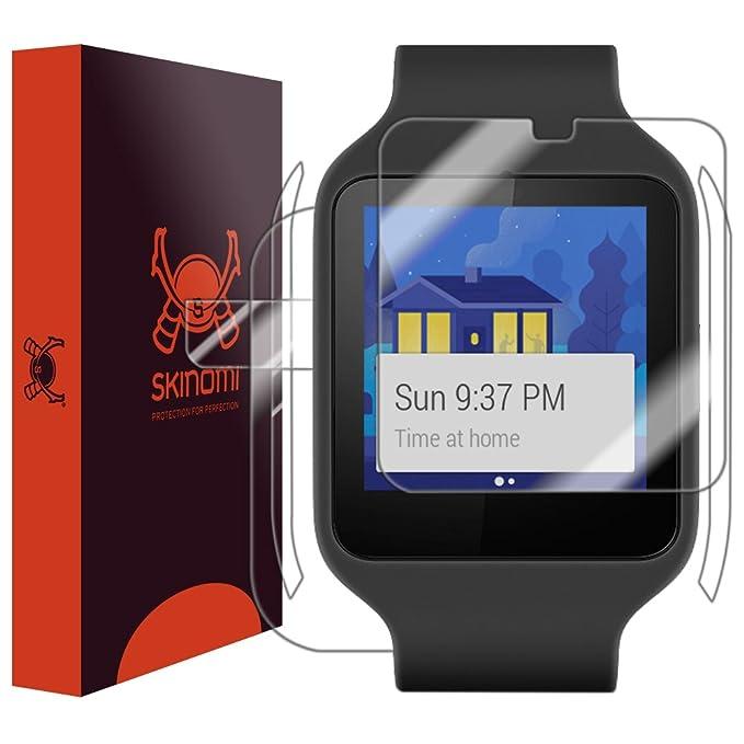Sony SmartWatch 3 Protector de pantalla (cobertura total ...