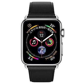 Bracelets de Montre en Cuir pour Apple Watch série 4 40MM Montres connectées