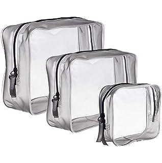 TransparenteJtdeal Bolsa Impermeable Pvc3pcs Neceser De qMGUSzVp