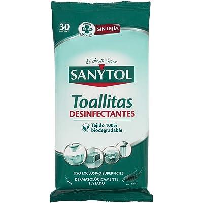 Sanytol - Toallitas Desinfectantes Multiusos, 30 Unidades