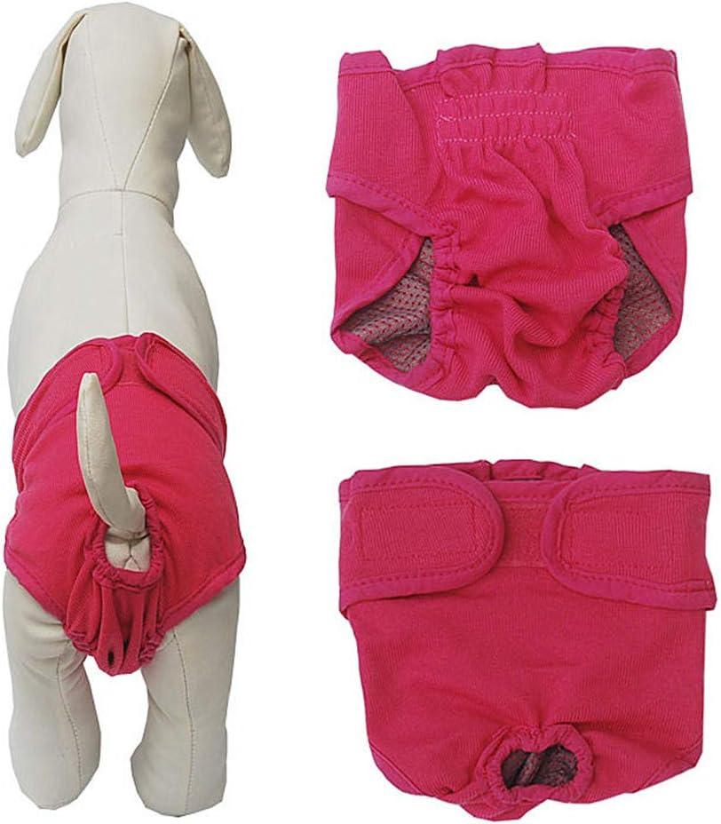 Xinllm Dog Nappies Female Medium Dog Season Pants Dog Pants For Bitchs In Season Dog Nappies Dog Period Pants Dog Season Pants Large blue,xs