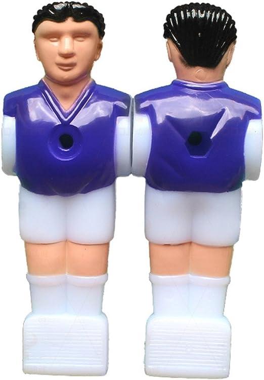 topshion 12pcs Estatua de jugador de fútbol futbolín hombre ...