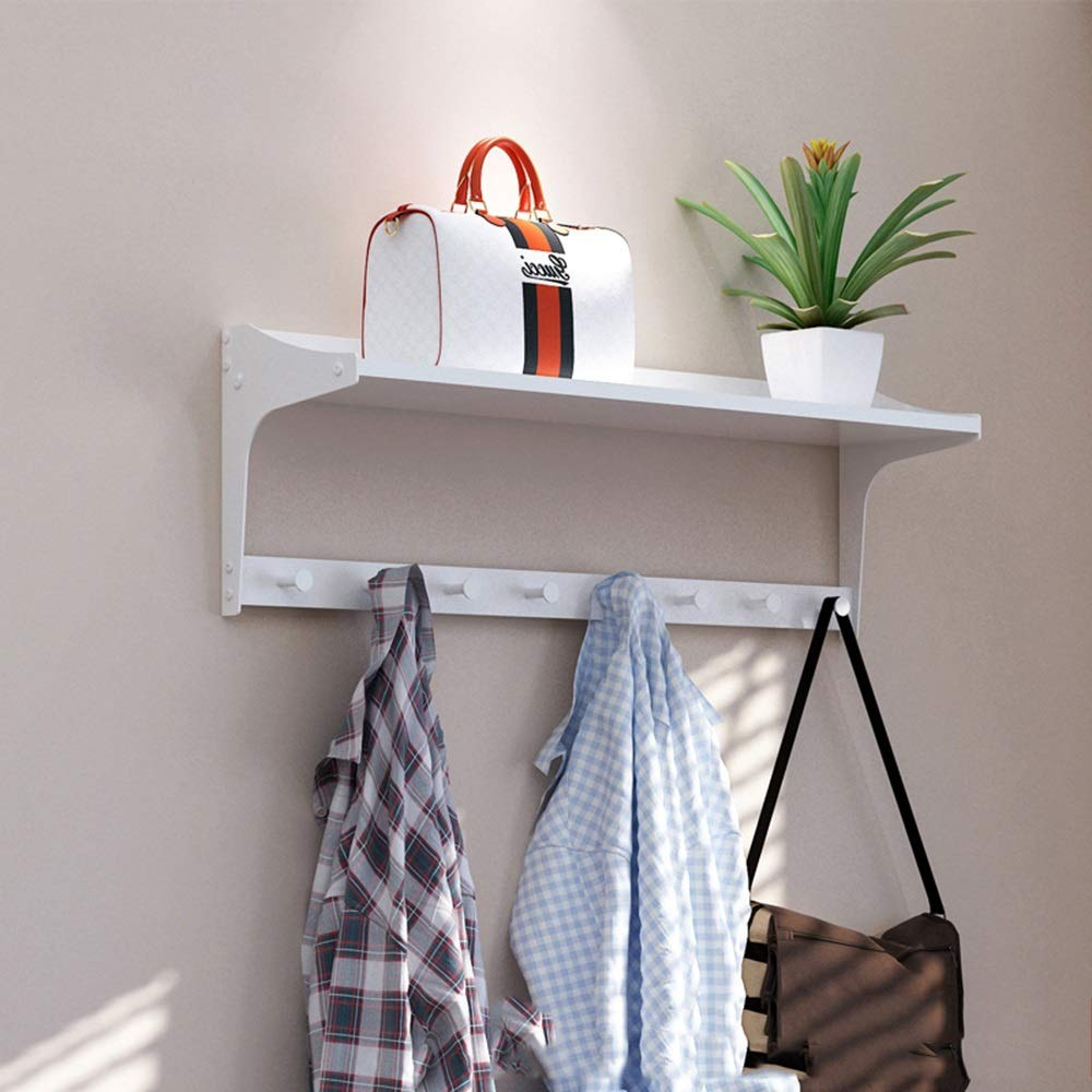 Amazon.com: Axdwfd - Perchero de pared con ganchos creativos ...
