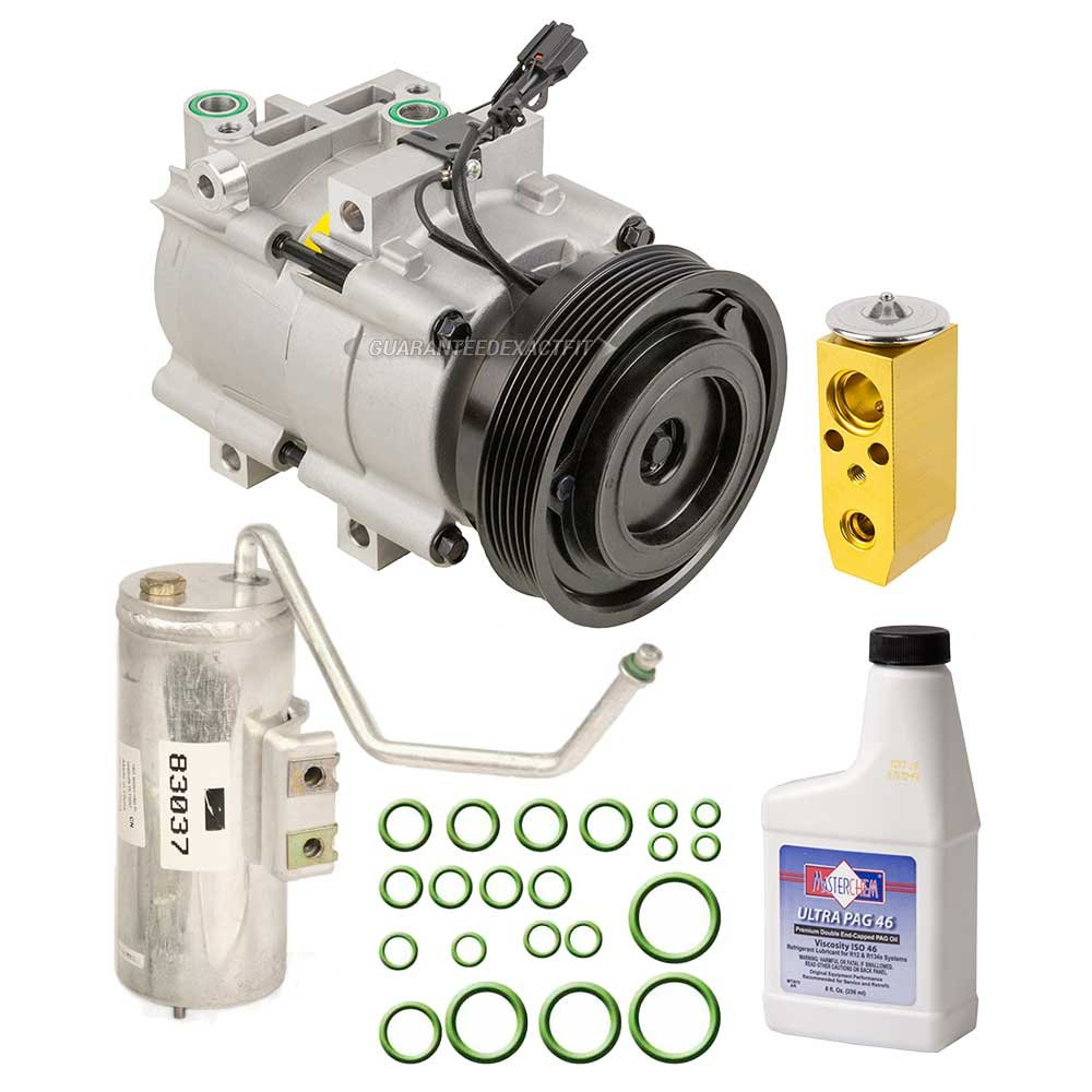 New Ac Compressor Clutch With Complete A C Repair Kit 2002 Hyundai Sonata 20 Fan Stopped Blowing For Kia Buyautoparts 60 80288rk Automotive
