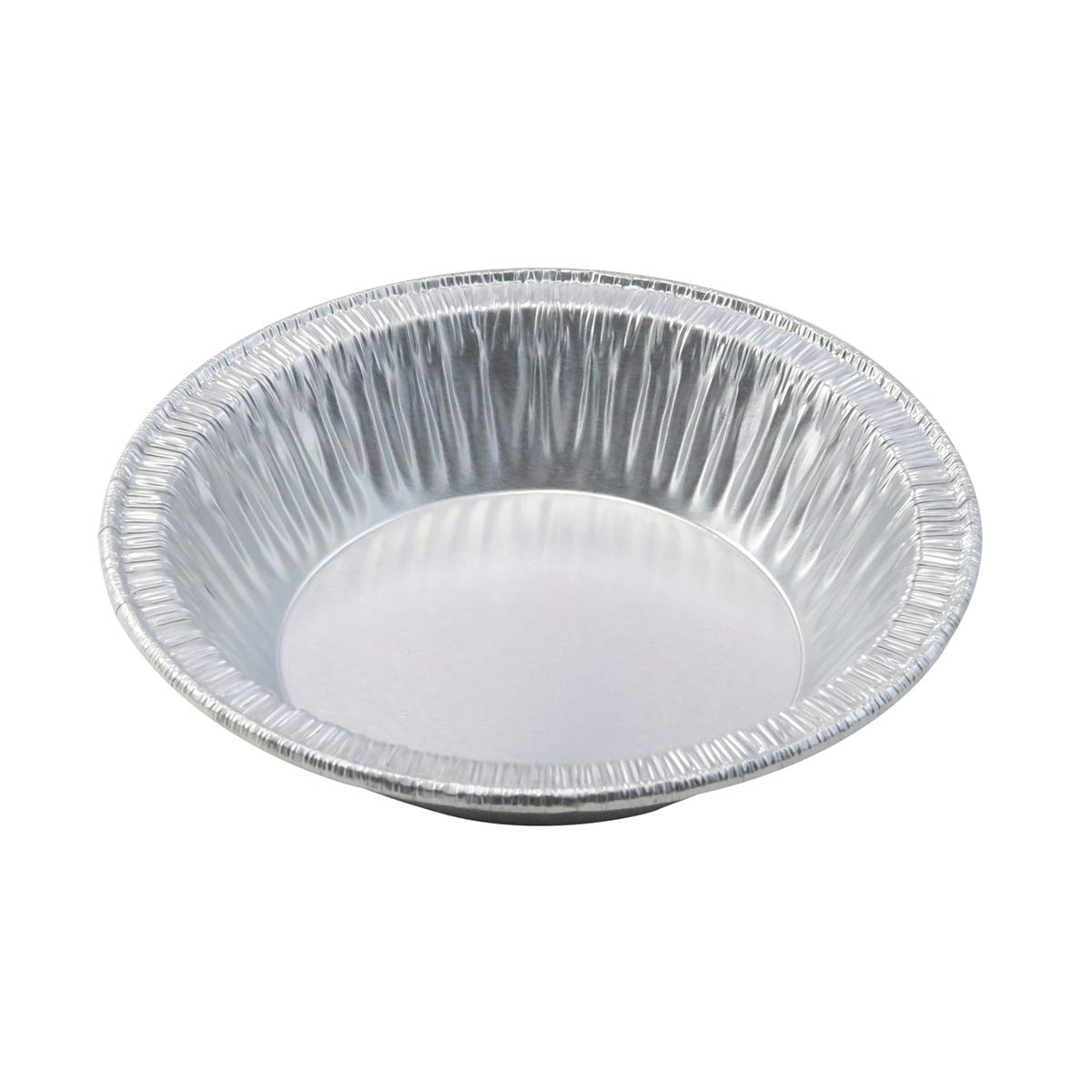 Disposable Aluminum 4 1/4'' Deep Tart Pan #425 (50)