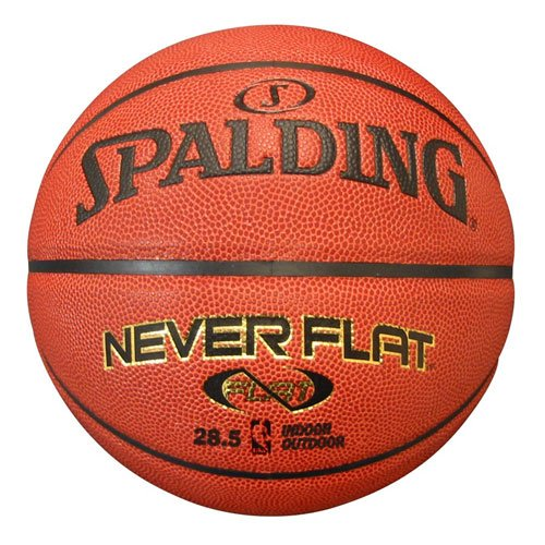 Spalding Never Flat Intermediate Size Basketball (Never Flat Football compare prices)
