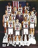 #2: AUTOGRAPHED 1992 David Robinson (USA Basketball Team) Olympics Dream Team Pose Signed 7.5X9.5 NBA Glossy Photo with COA