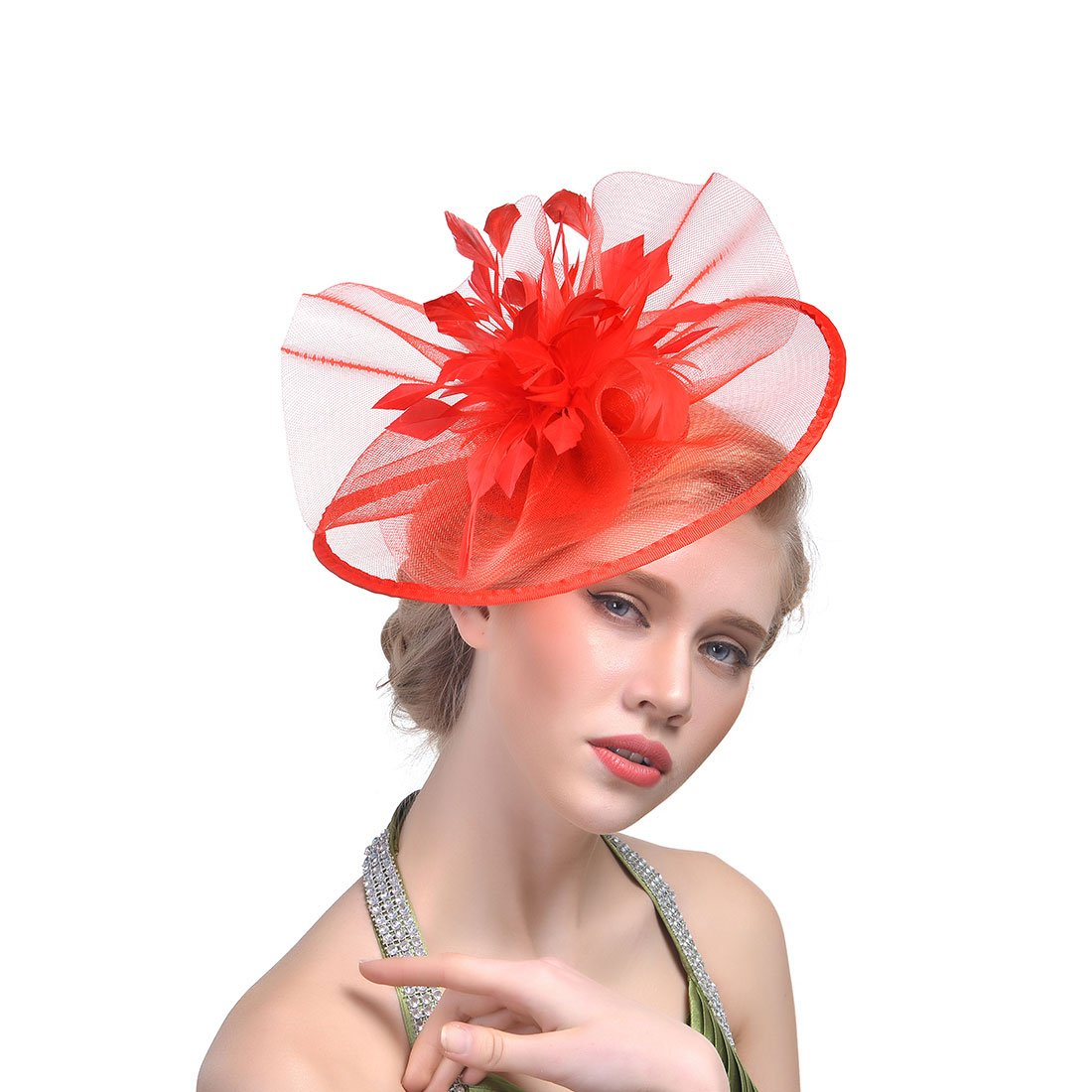 30th floor Womens Formal Party Fascinator Hat Headband Wedding Hats