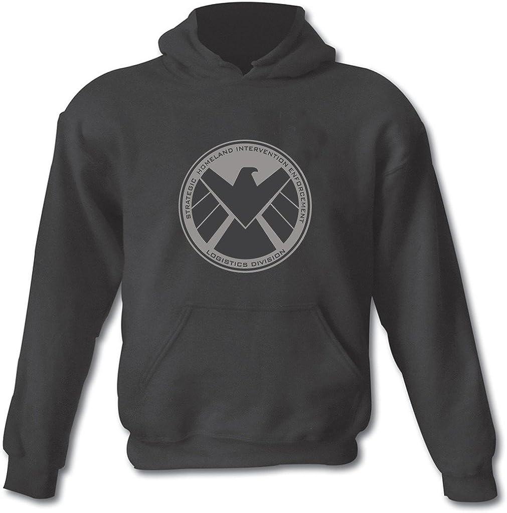 Agentes de SHIELD superhéroe Gildan Heavy mezcla de algodón sudadera con capucha todos los tamaños pequeño–XXL