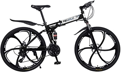 Amazon Com Adult Mountain Bike For Men And Women 26 Inch Wheels Mtb Road Bikes With Double Disc Brake Full Suspension Sports Outdoors