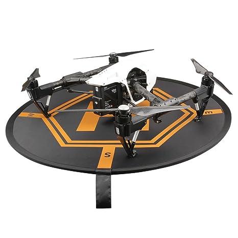 Drone portátil Delantal bajos Espacio helipad 80 * 80 cm, mamum ...