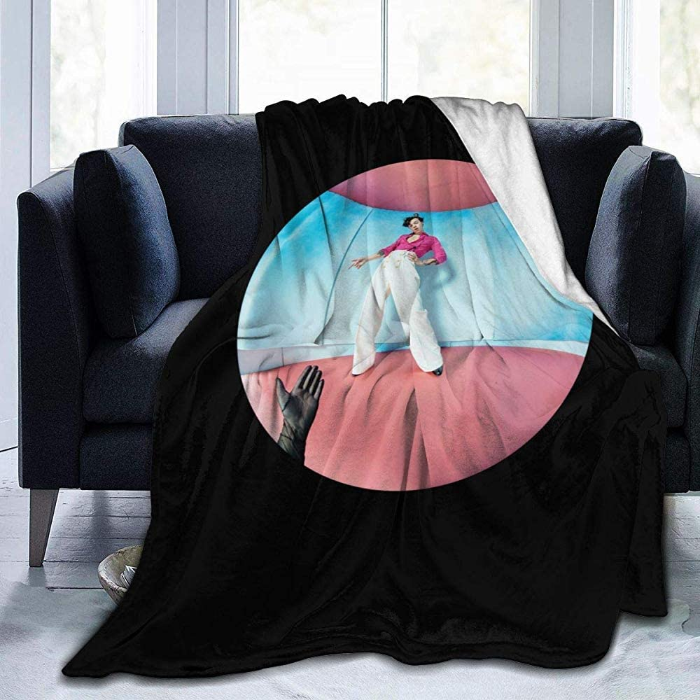 BOBO-Shop Manta Mantas Suaves y c/álidas para Ropa de Cama Harry Styles 3 para sof/á Cama Sof/á Decoraci/ón para el hogar Etc