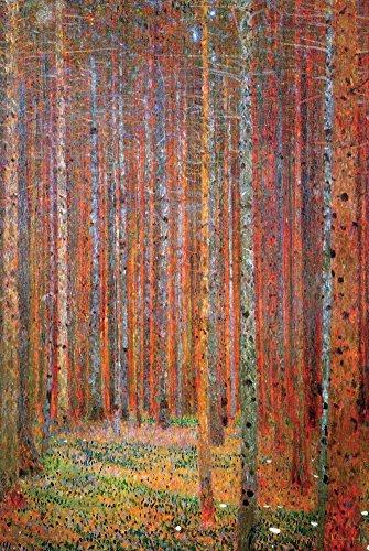 Tannenwald Poster by Gustav Klimt 24 x 36in by PosterSuperst