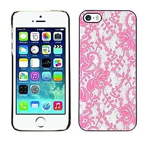 PC/Aluminum Funda Carcasa protectora para Apple Iphone 5 / 5S Glitter Vintage Wallpaper Retro / JUSTGO PHONE PROTECTOR
