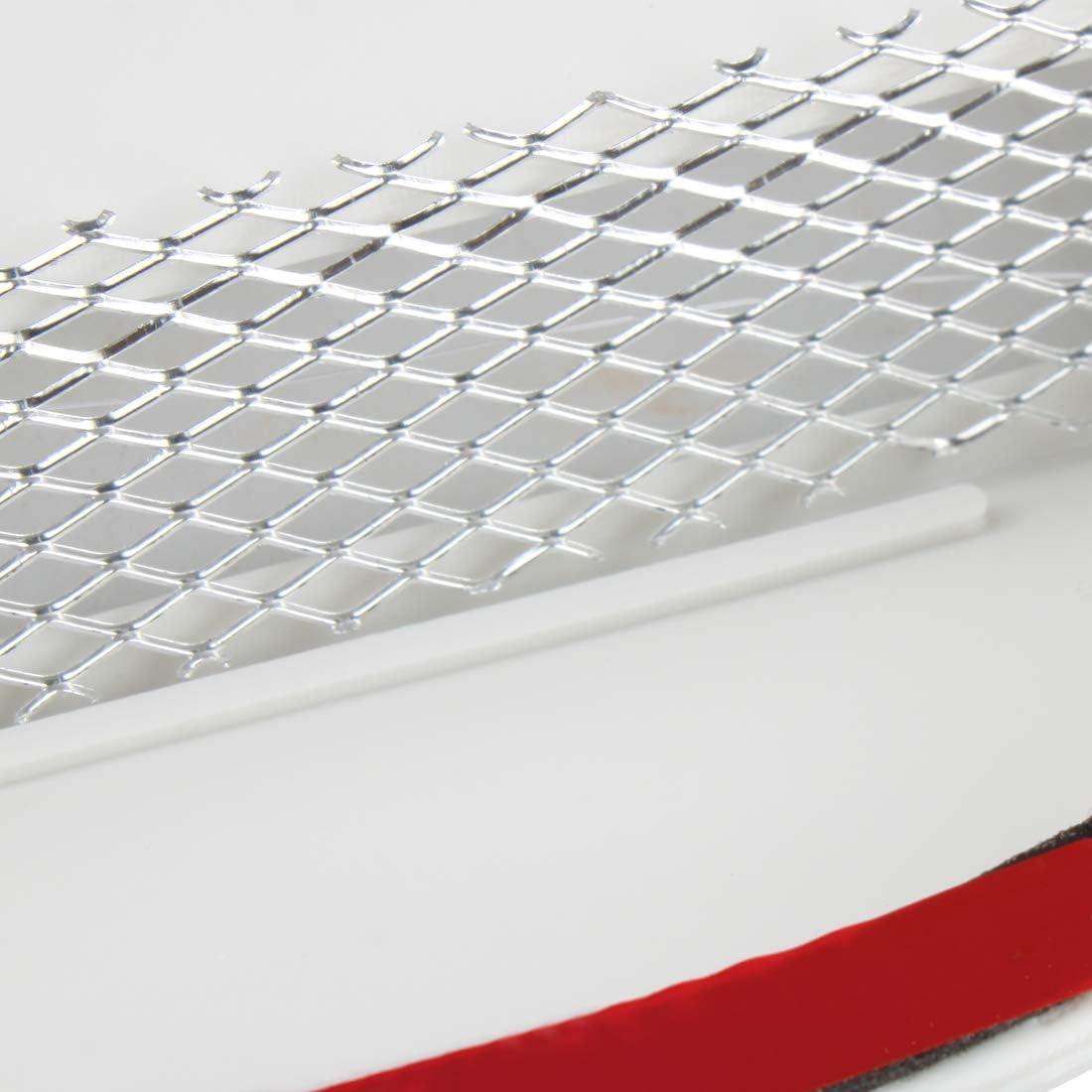 Larcele Auto Lufteinl/ässe Au/ßen Dekorative Luftdurchfluss Luftzufuhr Bel/üftungs/öffnungen Aufkleber JFK-05 Rot MEHRWEG