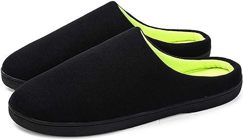 Inverno Pantofole Da Casa Uomo In Memory Foam In Caldo Cotone Invernale Antiscivolo Unisex Adulto Scarpe Pantofole Uomo Invernali Amazon It Scarpe E Borse