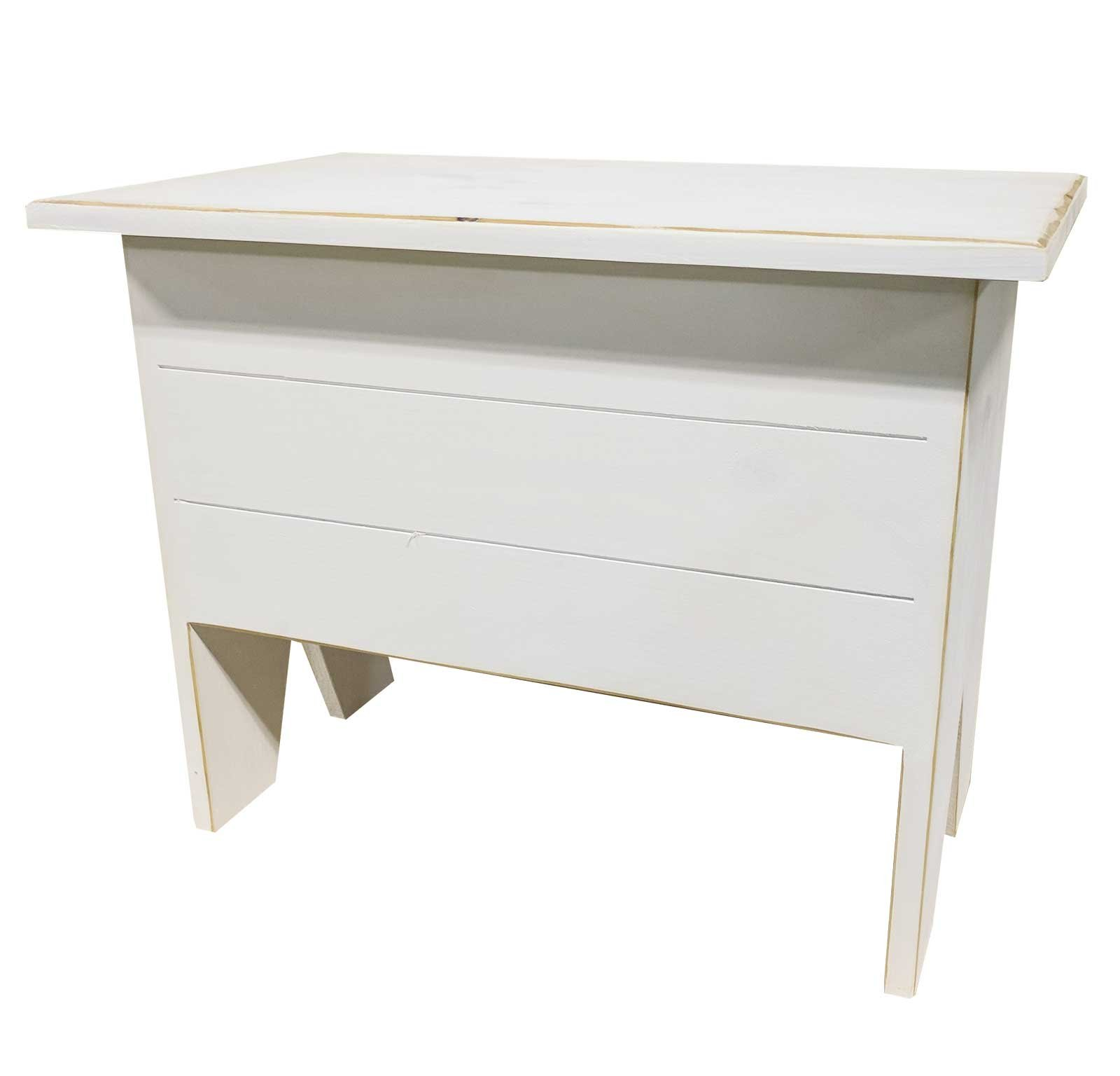 Sawdust City Entryway Bench With Storage 2' long (Old Cottage White) by Sawdust City (Image #1)