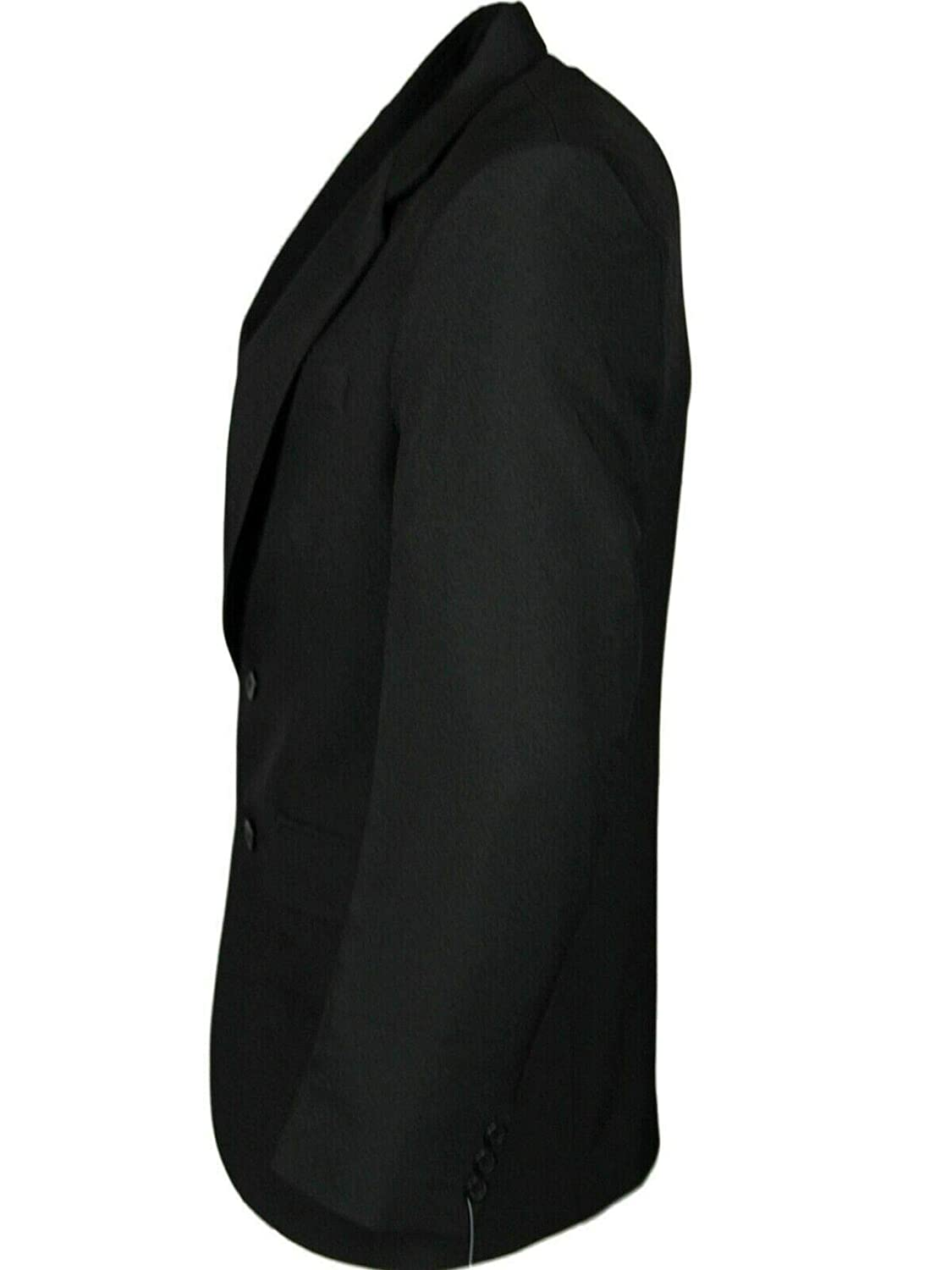 Mens Plus Size Blazer Smart Casual Regular Fit Business Suit Single Breasted Coats